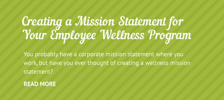 Employee Wellness Mission Statement