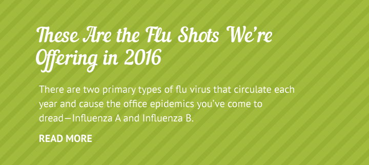 2016 Employee Flu Shots